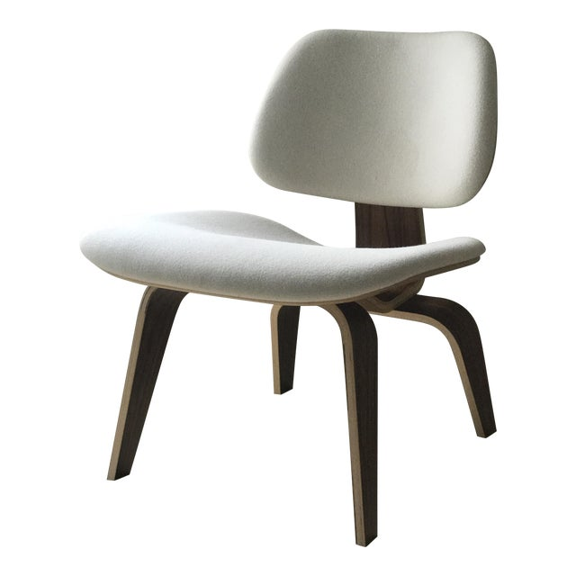 Eames Upholstered Molded Plywood Lounge Chair Chairish