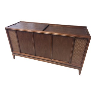 Mid Century Modern Magnavox Record Player Console