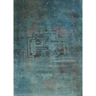 Over-Dyed Vintage Turkish Rug - 1′9″ × 2′6″