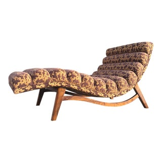 Mid-Century Style Custom Chaise Lounge