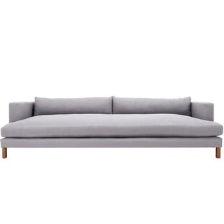 Clad Home Modern Low Profile Linen Sofa