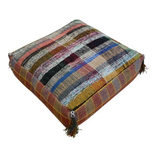 Turkish Kilim Floor Cushion Cover