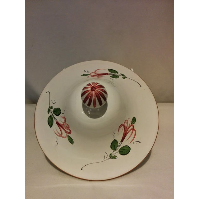 Antique French Faience Soupier - Image 5 of 7