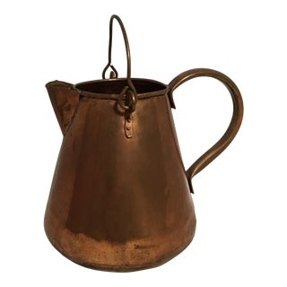 Republic of Ireland Copper Pitcher