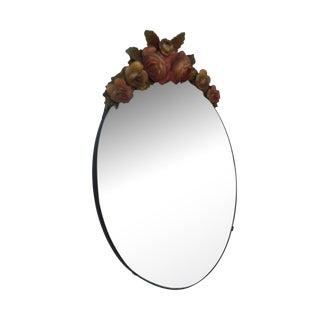 Art Deco Barbola Mirror