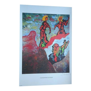 Abstract George Andreas Signed Ltd. Ed. Lithograph