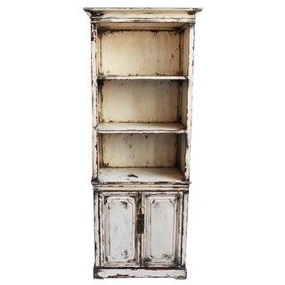 Vintage White Bookcase