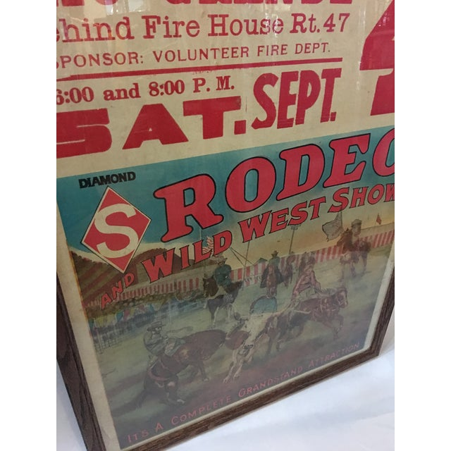 Original Rio Grande Rodeo Wild West Poster - Image 5 of 7