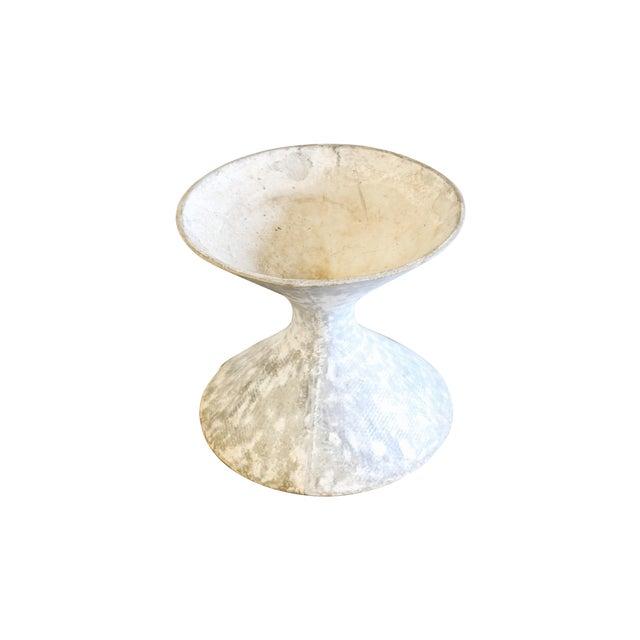 White Hourglass Planter - Image 1 of 6