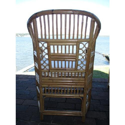 Image of Bamboo Brighton Pavilion Cane Chairs - Set of 6
