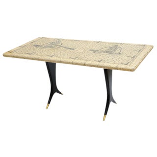 Piero Fornasetti Piazza Con Obelischi Coffee Table