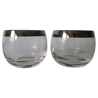 Dorothy Thorpe Silver Rim Glasses - A Pair
