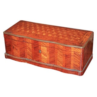 Continental Kingwood Parquetry Box