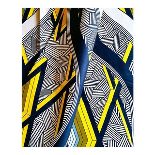 Abstract African Print Fabric - 6 Yards