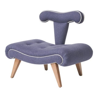 Grosfeld House Slipper chair, c1940s