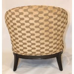 Image of Vintage Mid-Century Barrel Club Chairs - A Pair