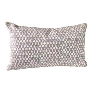 Lavender Sister Parish Linen Pillow