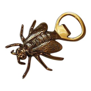 Solid Brass Bee Bottle Opener