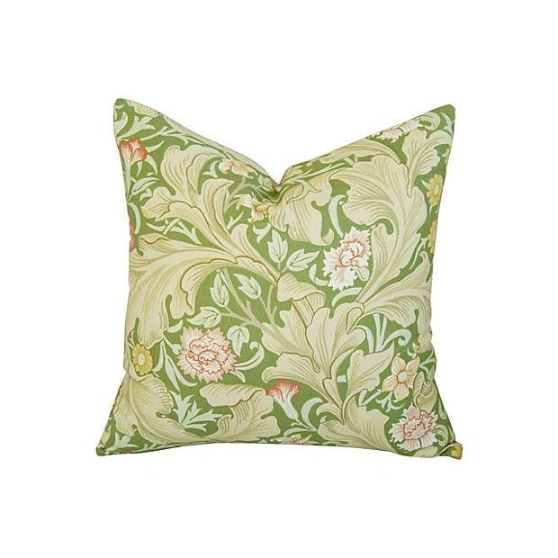 Image of Custom William Morris Leicester Pillows - Pair