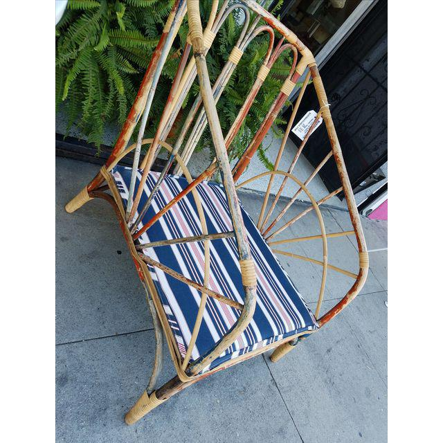 Vintage Rattan Chair, 1920s   Image 5 Of 9