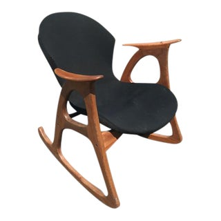 Erhardsen Andersen Danish Sculptural Rocking Chair