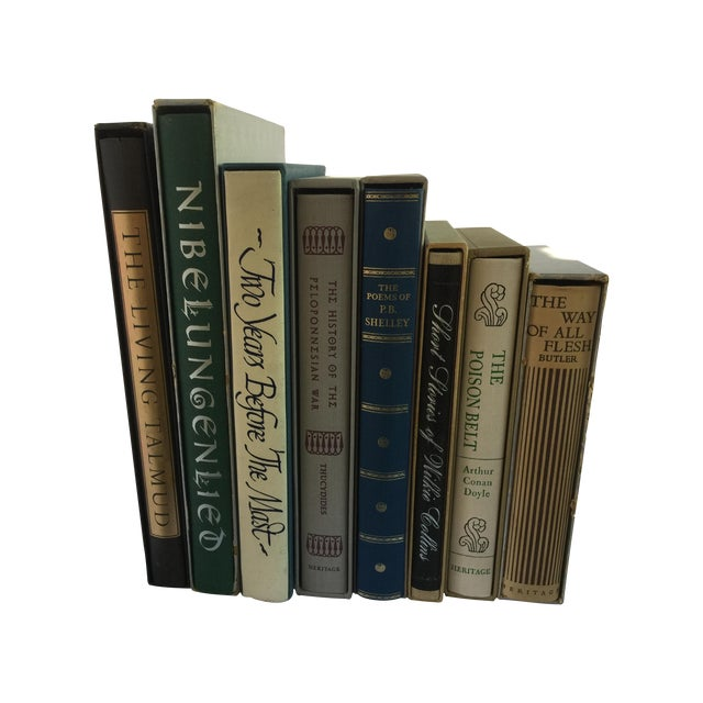 Books With Original Slipcase - Set of 8 - Image 1 of 4