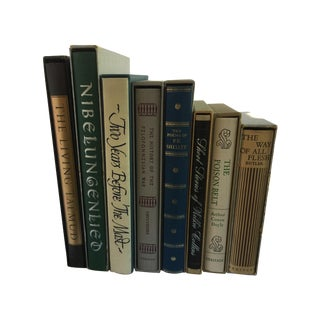 Books With Original Slipcase - Set of 8