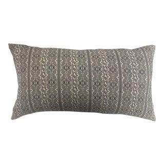 Woven Tribal Textile Pillow