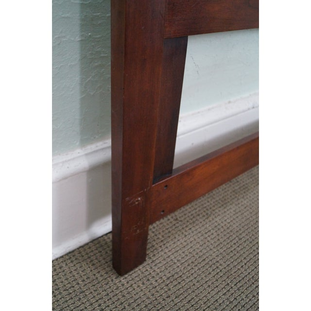 Statton Solid Cherry Queen Size Headboard - Image 8 of 10