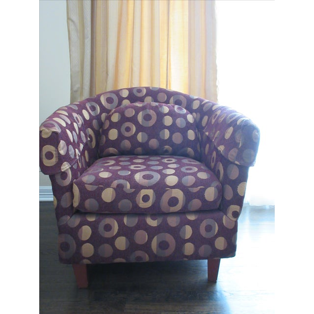 Contemporary Club Chair - Image 4 of 10