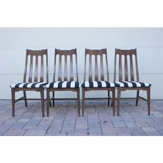 Mid Century Dining Chairs - Set of 4 - Image 2 of 8