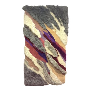 Robert Kidd Wall Hanging/Area Rug - 3′9″ × 7′4″