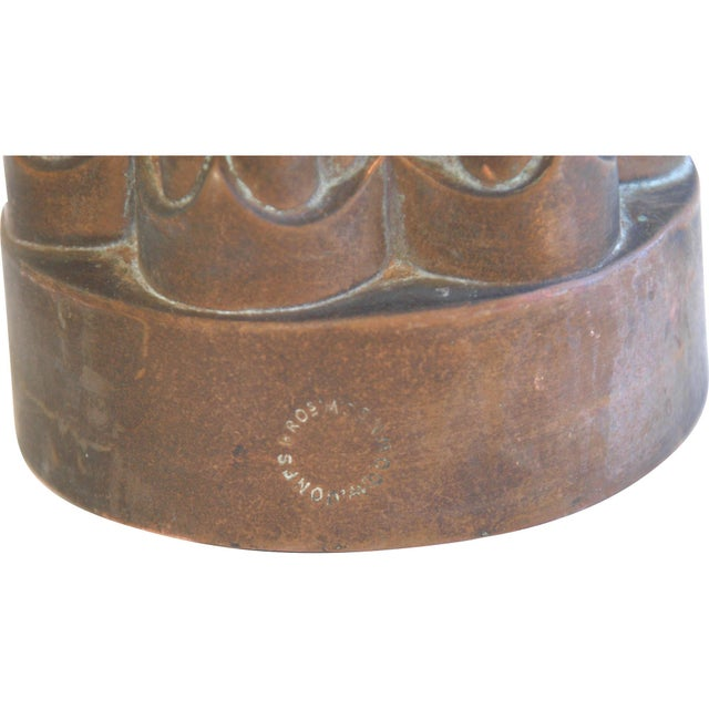 Antique English Jones Brothers Copper Mold - Image 2 of 6