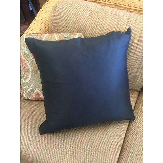 Black And Gold Geometric Pillow - Image 4 of 4