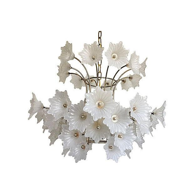 Flower Blossoms Chandelier - Image 2 of 9