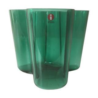 Iittala Small Emerald Green Aalto Vase
