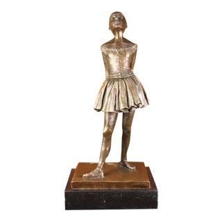 Little Young Dancer Ballerina Bronze Sculpture
