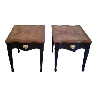 Vintage Broyhill Side Tables - A Pair
