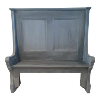 French Grey Decon's Bench