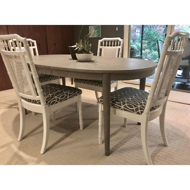 Extension Dining Room Tables: Gray Dining Room Table With Extension Leaf