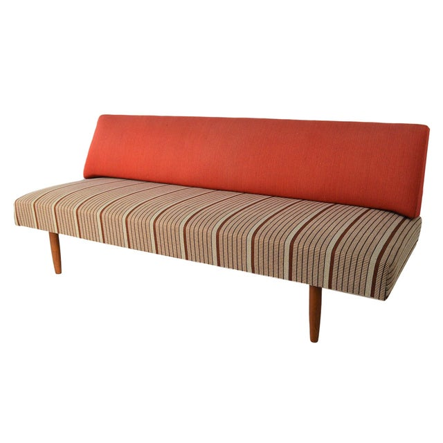 Mid Century Danish Modern Sofa / Daybed - Image 2 of 8
