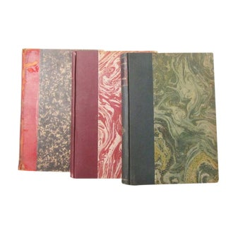 Antique Music Books, Opera Sheet Music - Set of 3