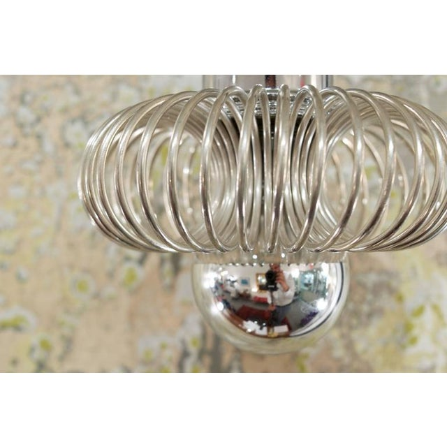 Image of Mid-Century Coiled Drop Pendants