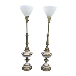 1960's Stiffel Hollywood Regency Table Lamps