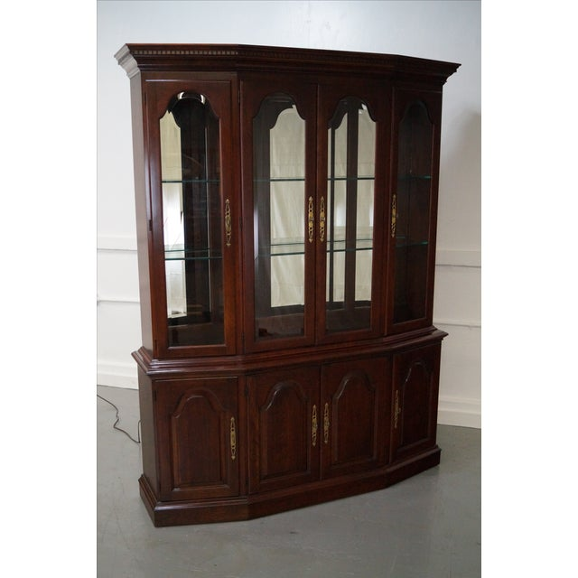 Pennsylvania House Solid Cherry China Cabinet - Image 2 of 10