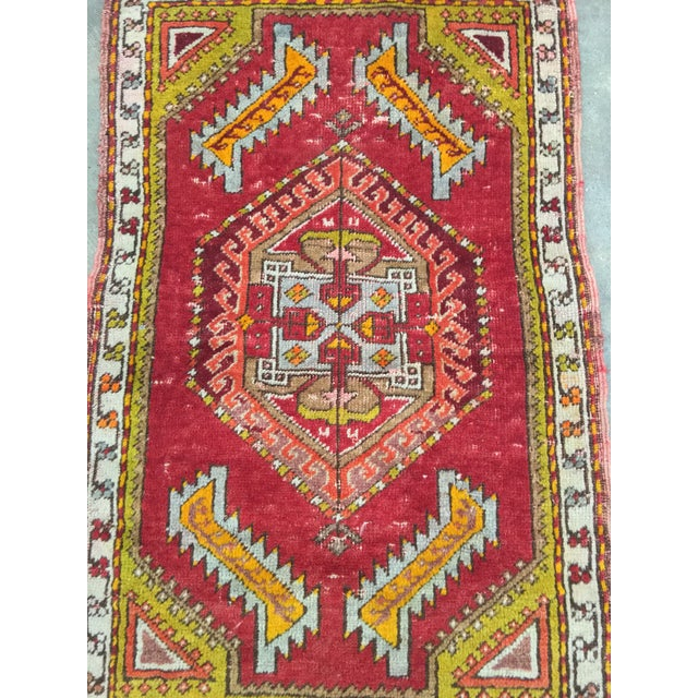 "Anatolian Persian Rug - 1'7"" x 2'11"" - Image 4 of 10"