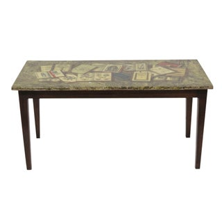Piero Fornasetti Libri Coffee Table