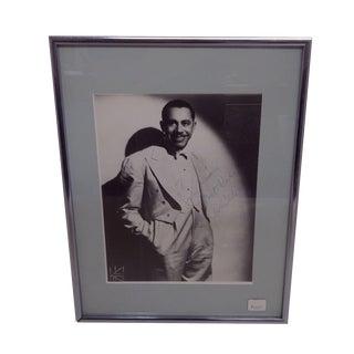 Cab Calloway Vintage Autographed Photograph