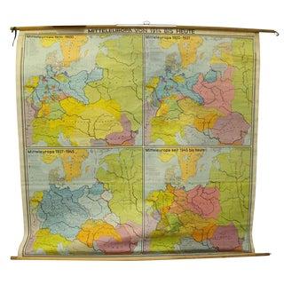 Mitteleuropa Von Bis Heute Map, 1914