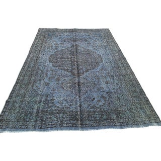 "Turkish Overdyed Rug - 6'6"" x 9'10"""